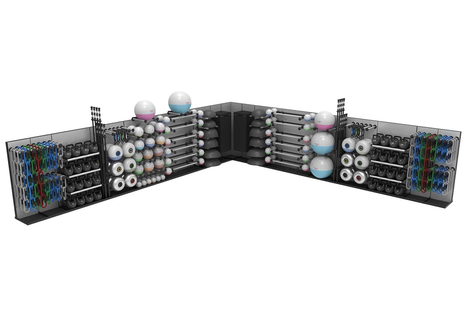 Reax Storage Corner Configuration